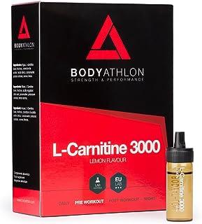 BodyAthlon - L-Carnitina Liquida 3000 Brucia Grassi Integratori - 20 fiale x 10 ml