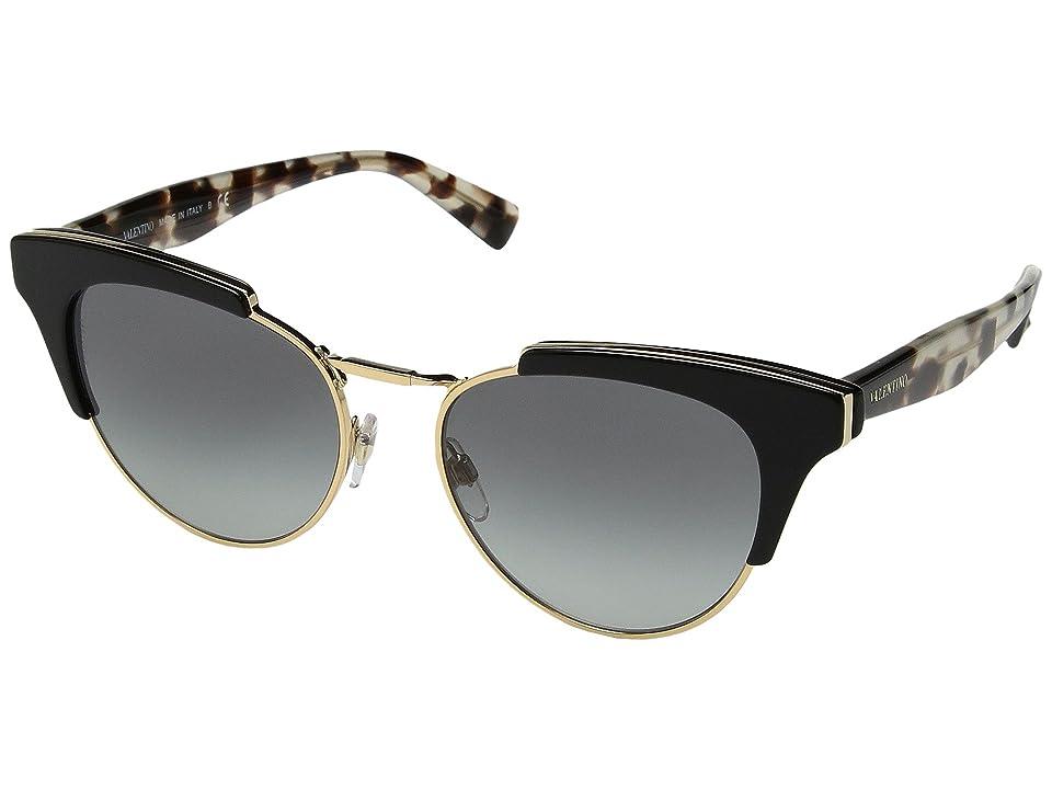 Valentino VA 4026 (Black/Grey Gradient) Fashion Sunglasses