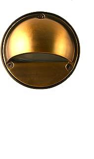 12V Landscape Lighting LED Step/Deck Light in Brass (BPL400BRZLED)
