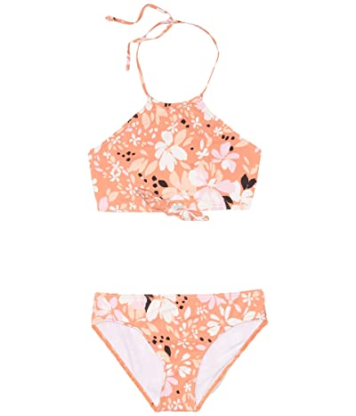 Billabong Kids Petal Party Two-Piece (Little Kids/Big Kids) (Coral Reef) Girl