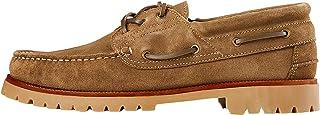 find. Amz142_Suede, Chaussures Bateau Homme