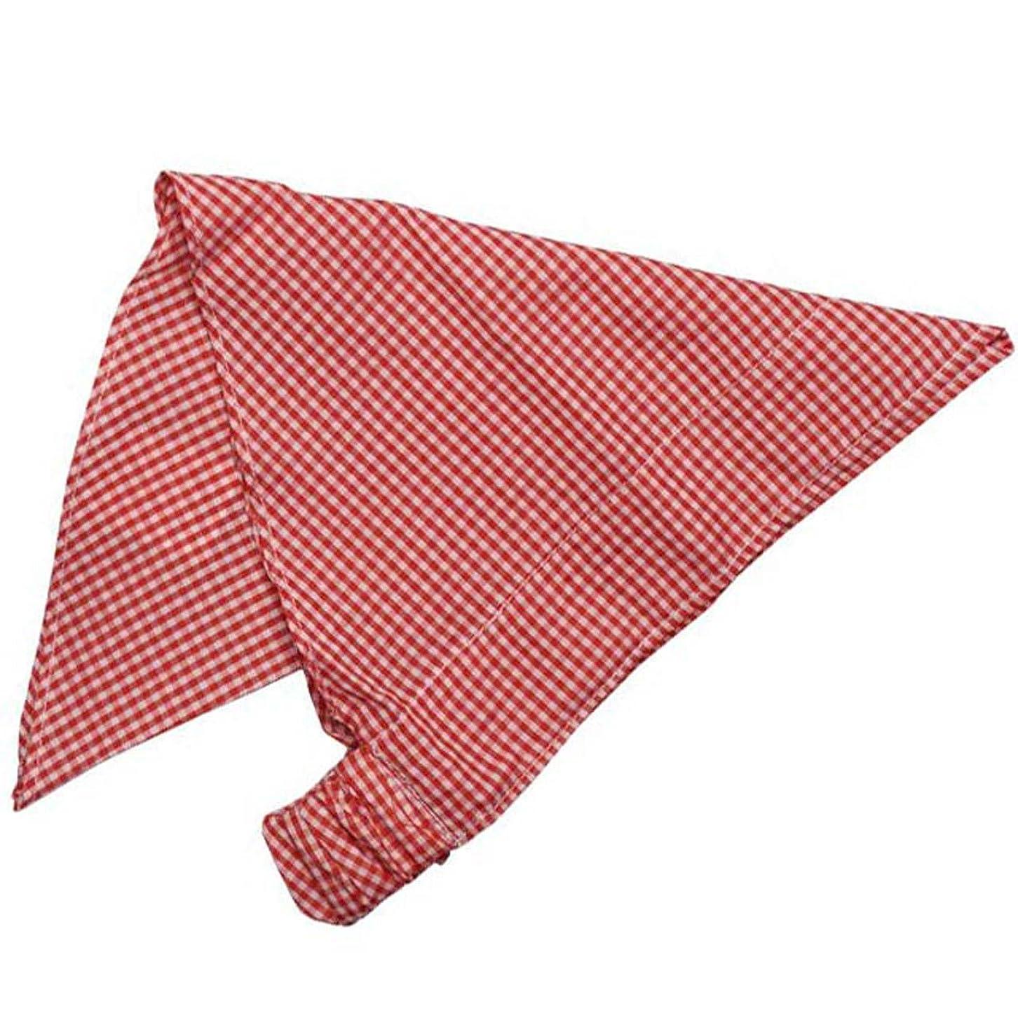 取り替えるビーチ威信三角巾 ゴム付き 子供用 三角布 学校 給食 エプロン 子供エプロン キッズエプロン