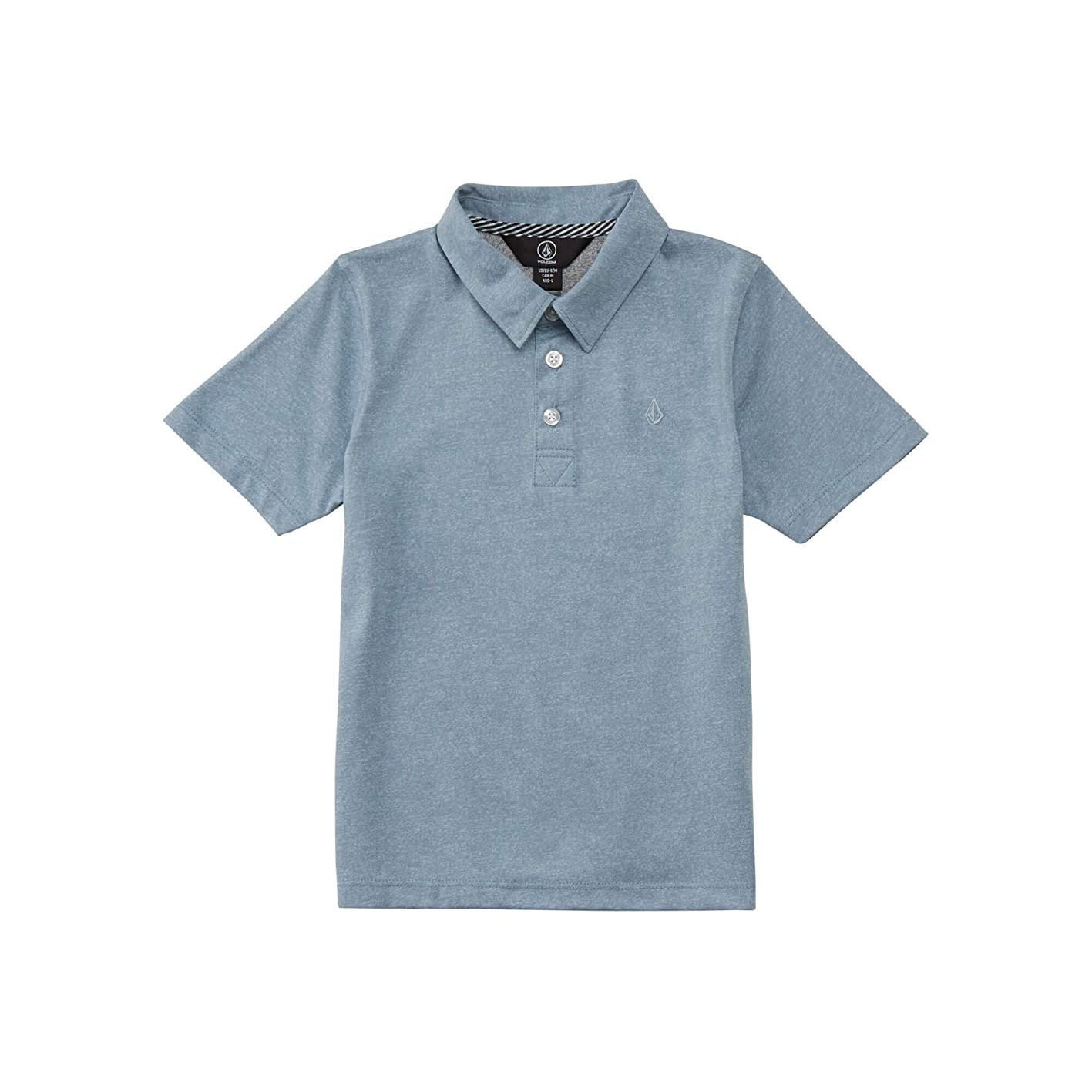 Volcom Boys' Wowzer Modern Fit Cotton Polo kaclwdwfnfx593
