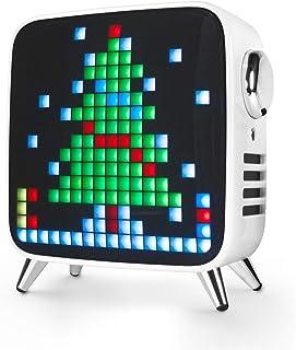 Divoom Tivoo Max 2.1 LED Bluetooth luidspreker met veelkleurige LED-display, 10.000mAh 40W muziekbox, smart digitale licht...