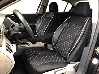 -  Kunstleder Schwarz Universal  M Sitzbezüge Schonbezüge Opel Astra I F