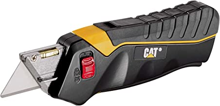 Cat Safety Utility Knife Box Cutter Self-Retracting Blade with 3 Blades - 240071