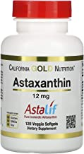 California Gold Nutrition, Astaxanthin, 12 mg, 120 Veggie Softgels, Milk-Free, Egg-Free, Fish-Free, Gluten-Free, Peanut Fr...