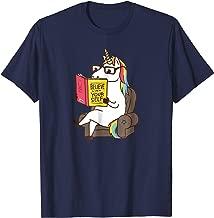 believe in yourself unicorn shirt
