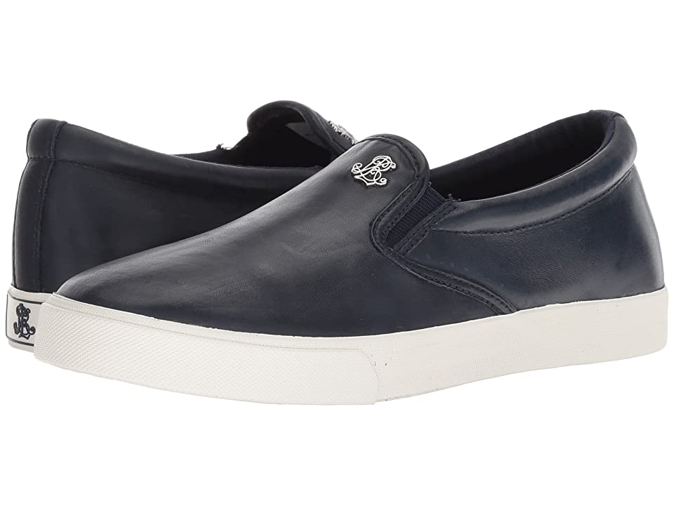 LAUREN Ralph Lauren Ria (Dark Midnight Super Soft Leather) Women