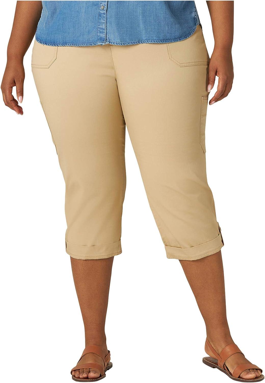 Lee Womens Flex-to-go Cargo Capri Pant