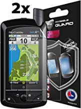 IPG Compatible with ANTI - GLARE - SkyCaddie SGX - SGXW GOLF GPS (SC) (2X) Invisible Film Screen Protector Guard Cover Free Lifetime Replacement Warranty Bubble -Free