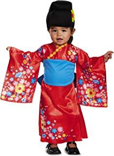 Disguise Kimono Cutie Costume,  Red,  Medium (3T-4T)