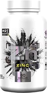 Sponsored Ad - MRI High Potency Zinc Citrate Supplement for Adults, Women & Men Immune Support, Hair Skin & Nails Vitamins...