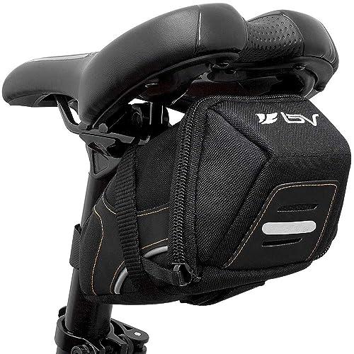 1ca780805c7 BV Bicycle Y-Series Strap-On Bike Saddle Bag/Bicycle Seat Pack Bag