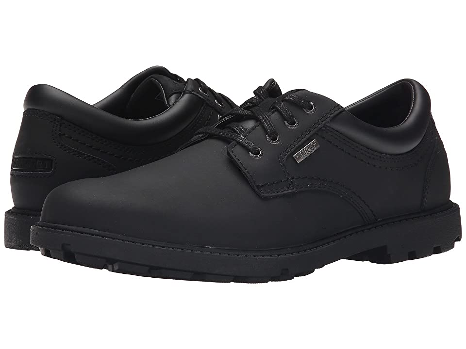 Rockport Storm Surge Water Proof Plain Toe Oxford (Black) Men
