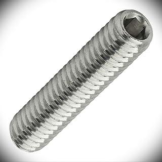 Steel Full Thread Square Head Set Screws 2500 pcs Cup Point 5//16-18 X 3//4