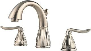 Pfister F049LT0K Sedona 2-Handle 8 Inch Widespread Bathroom Faucet in Brushed Nickel