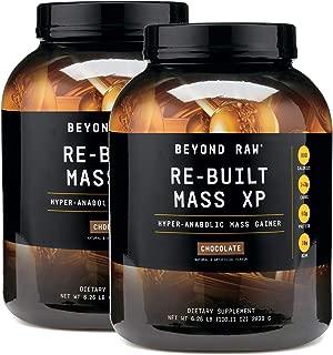 Beyond Raw Re-Built Mass XP - Chocolate - Twin Pack