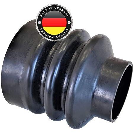 Ws System 2x Universal Faltenbalg Aus Gummi 2 Stk Flexible Dehnbare Achsmanschette Made In Germany Aus Hochwertigem Pvc Schelle In Größe L 45mm 105mm Ø 15mm 26mm Auto