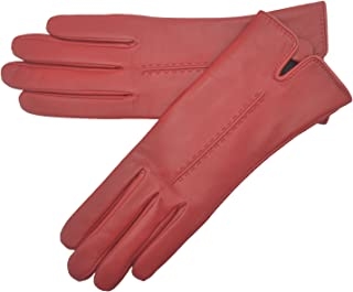 Lambland Ladies Soft Leather Gloves with Stitch Detail