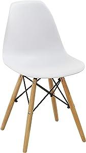 Salone-negozio-online SEDIA MOMO Bianca HW57909 CONF.4 Stück