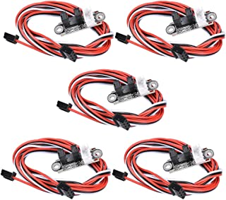 5 Pack Optical Endstop with 1M Cable Optical Switch Sensor Photoelectric Light Control Optical Limit Switch Module for 3D Printer