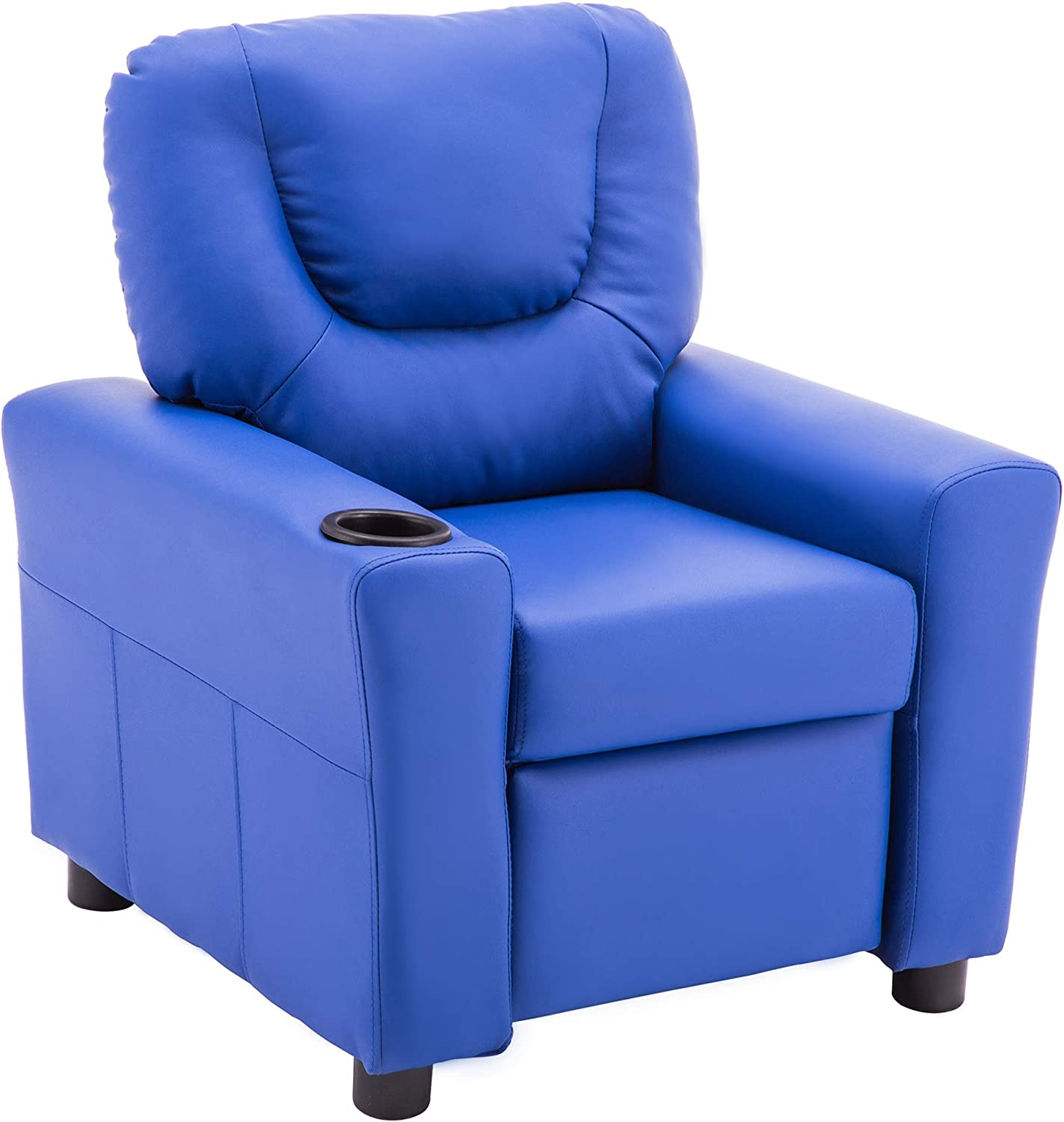 Mcombo Kids Recliner Superlatite Chair Armrest Sofa with Couch OFFicial site Cup fo Holder