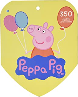 Amscan Peppa Pig Sticker Book | Party Favor | 350 Ct