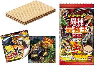 異種最強王図鑑 チョコウエハース (20個入) 食玩・準チョコレート (学研コンテンツ)