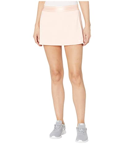 Nike Court Dry Skirt Stretch (Washed Coral/White/White/White) Women