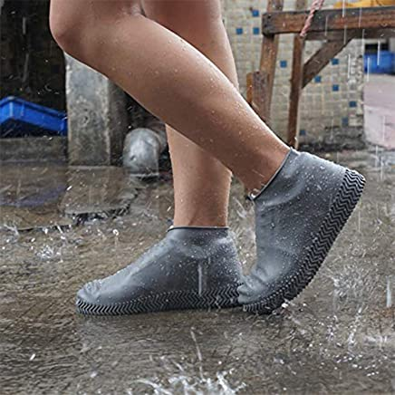 JRM's Waterproof Rain Boot Shoes Cover/Rain boots/Shoes cover/Reusable Foldable/Resistant Overshoes with Excellent Elasticity/Water and Dust proof Shoes cover/Suitable for adults and children