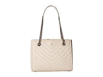 Kate Spade New York Amelia Small Tote (Tusk) Handbags