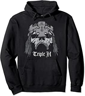 """WWE Triple H """"Skull With Crown"""" Graphic Sweat à Capuche"""