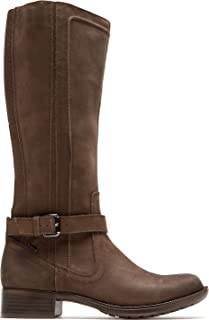 Rockport Women's Cobb Hill Christy Boot,Stone Leather,US 5.5 M