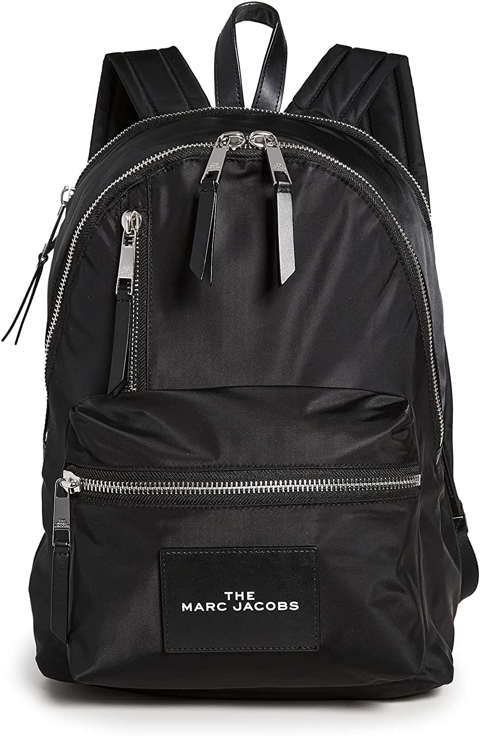 The Marc Jacobs Womens The Pouch Nylon Backpack, Black, One Size