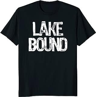 Distressed Lake Bound T Shirt | Lake Bound T-Shirt Lake Tee