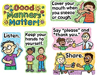 Carson Dellosa Good Manners Matter Bulletin Board Set (110109)