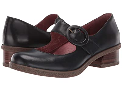 Dansko Brandy (Black Waterproof Burnished) Women