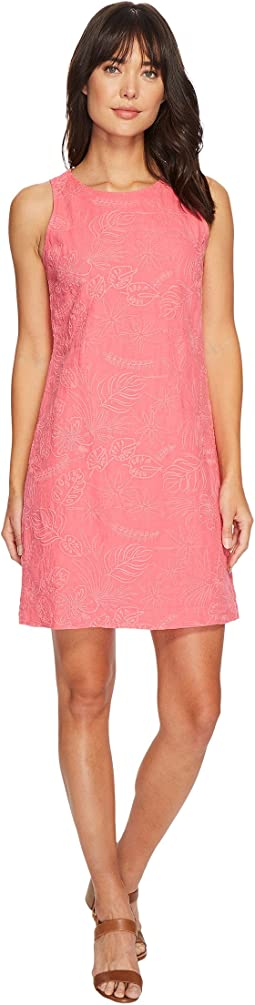 Tommy Bahama - Monstera Mash Embroidered Shift Dress