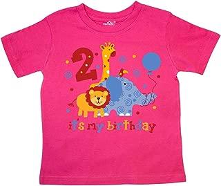 Safari 2nd Birthday Toddler T-Shirt 10fd2
