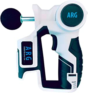 ARG Massage Gun - Athletic Deep Tissue Massager for Muscle Recovery … (White)