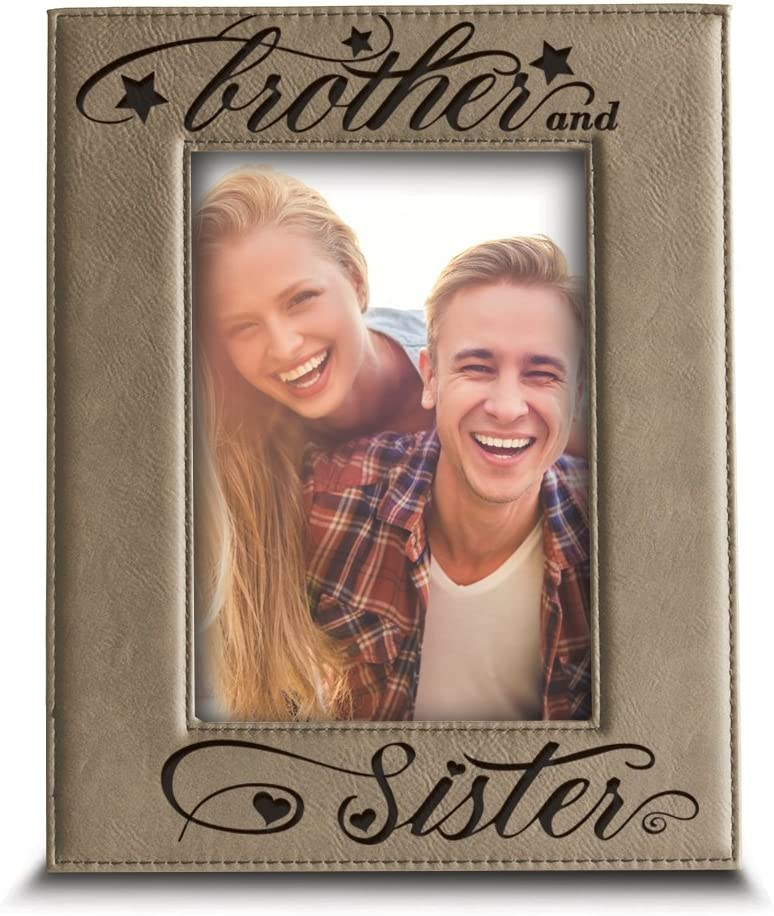 Bella Busta- Brother and Sister Gift-Christ Sibling New 67% OFF of fixed price sales photo frame-