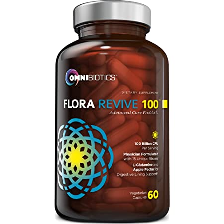 Amazon.com: Probiotics 100 Billion CFU   Clinical Strength Probiotics for  Women, Probiotics for Men   15 Strain Probiotic Supplement with Delayed  Release Capsules (DRCaps) Plus Prebiotics and L-Glutamine: Health &  Personal Care