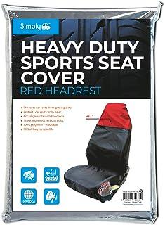 Simply SHDSC01 Heavy Duty Sports Seat Cover