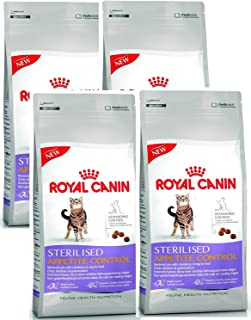 Royal Canin Sterilised Appetite Control Dry Cat Food 400 g x 4 Bags (1.6kg)