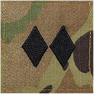 Army LTC ROTC Cadet Rank OCP Scorpion with HOOK Fastener-LIEUTENANT COLONEL