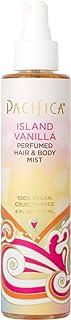 Pacifica Beauty Island Vanilla Perfumed Hair & Body Mist, Island Vanilla, 6 Fl Oz (1 Count)