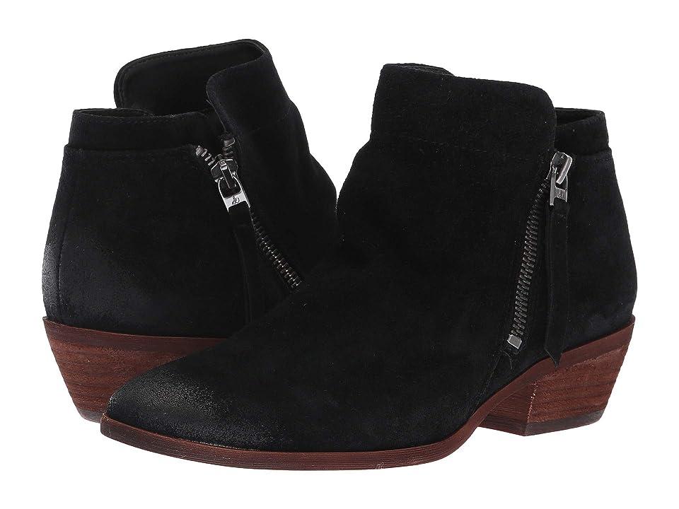 Sam Edelman Packer (Black Velutto Suede Leather) Women