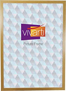 Thin Oak Finish Ready Made Picture Frame, A2 Size, 59.4 x 42 cm,