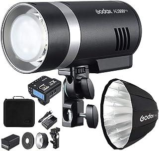 Godox AD300 Pro Studio Flash portátil 300 Ws TTL HSS 1/8000th lámpara de modelado bicolor de alta velocidad 3000K 6500K Re...